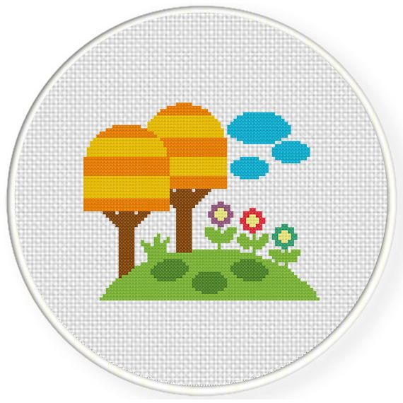 FREE for April 7th 2015 Only - Fantasy Land Cross Stitch Pattern