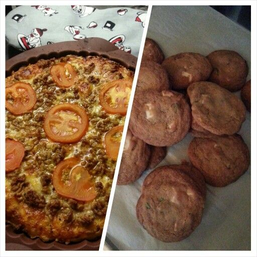 Panpizza and Cookies