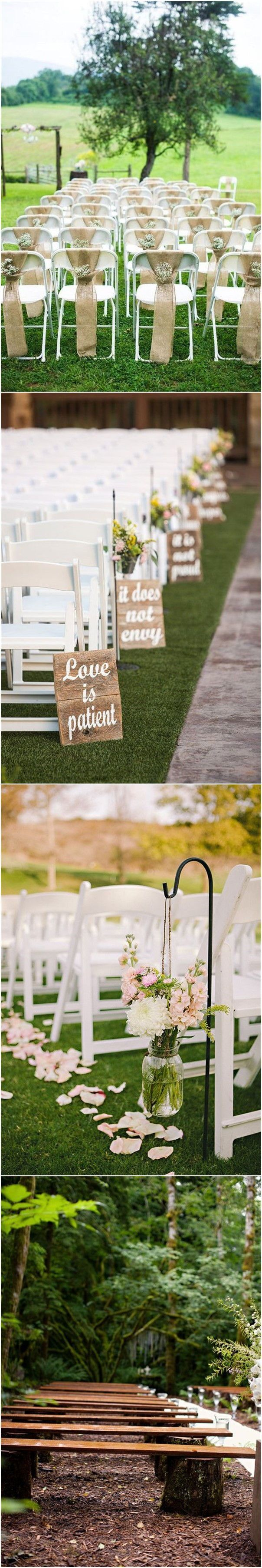 10 Rustic Garden Wedding Ideas Most Awesome as well as Beautiful