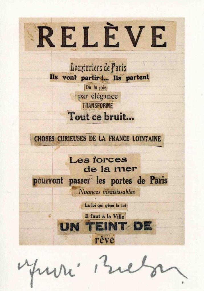 Cadavre exquis - André Breton                                                                                                                                                                                 Plus
