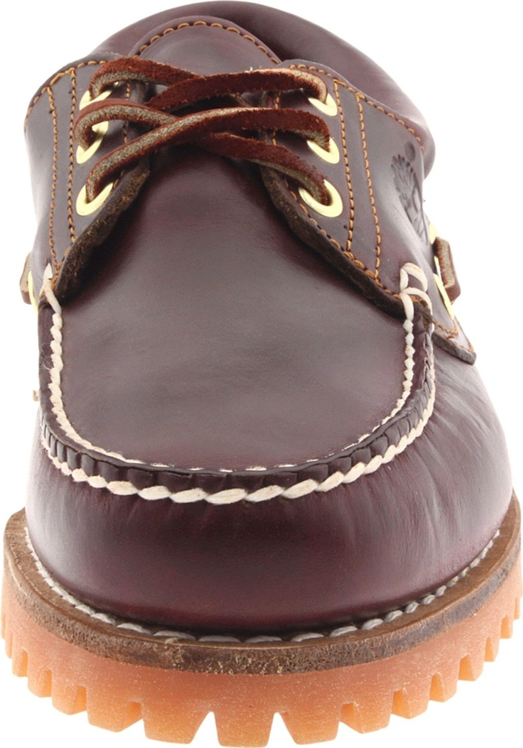 Timberland Men's Classic 3-Eye Lug Boat Shoe