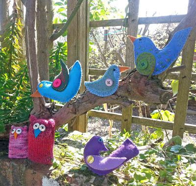 Hippystitch: Get Creative at Olive's Nest with Brilliant Birds