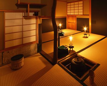 Japanese Tea Ceremony Room.