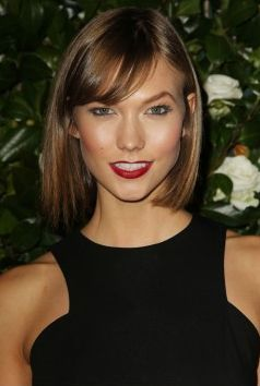 Karlie Kloss - makeup and hair colour and possible cut if I ever go short!