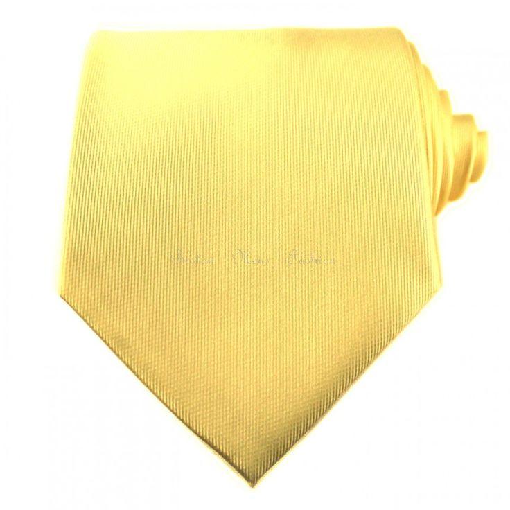 Gold Yellow Neckties / Formal Neckties