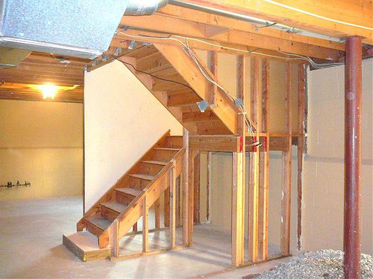 best 25 open basement stairs ideas on pinterest open basement basement staircase and basement. Black Bedroom Furniture Sets. Home Design Ideas