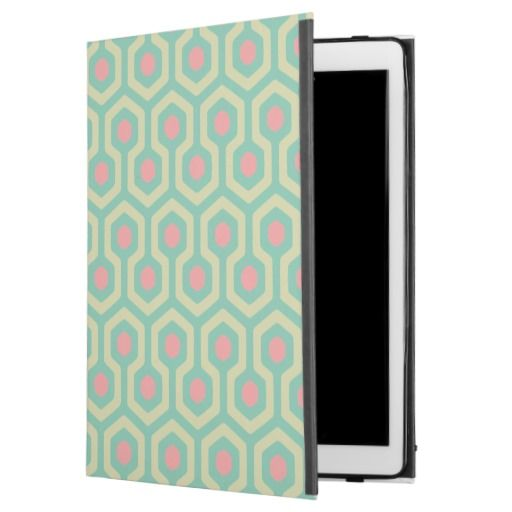 Abstract Geometric Beehive Pattern iPad Pro Case