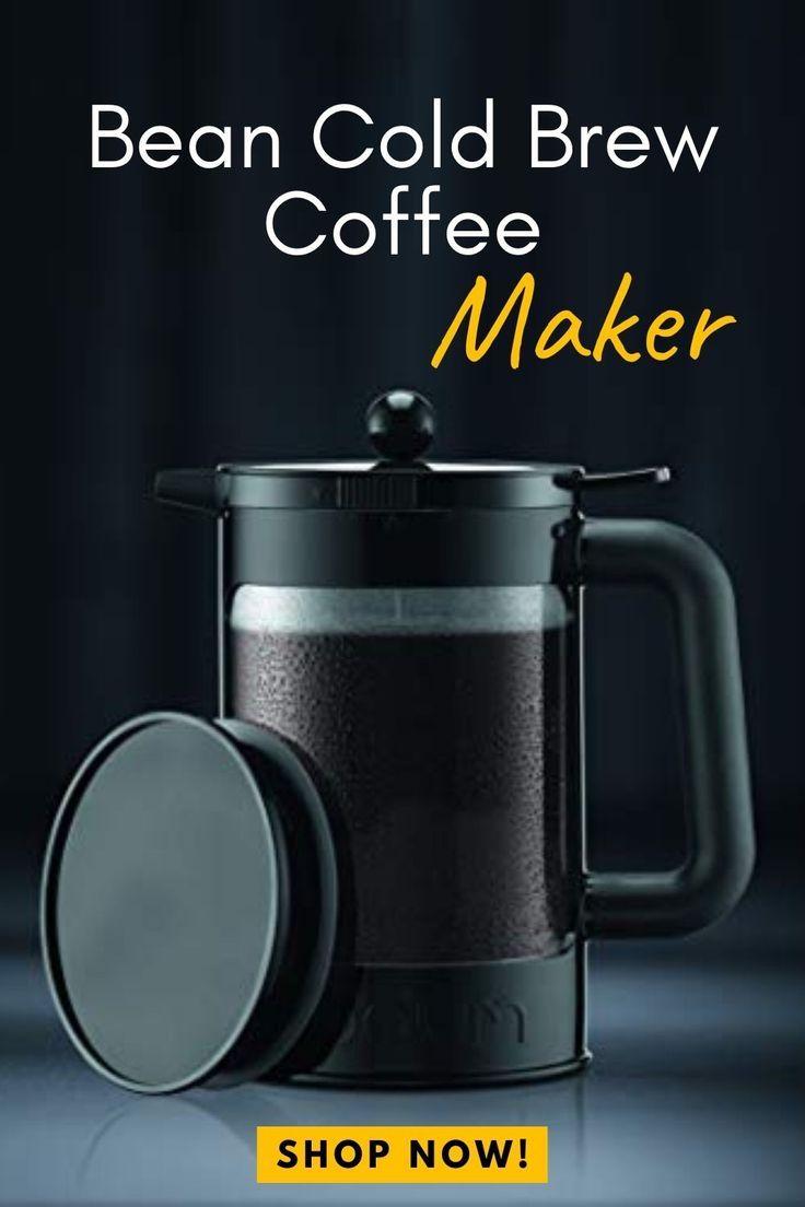 Coffee Makers Bodum K11683-01WM Bean Cold Brew Coffee Maker 51 Oz ...