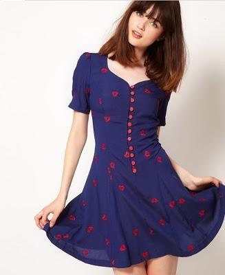 vestidos casuales | Imágenes de vestidos bonitos casuales | Imágenes de Vestidos
