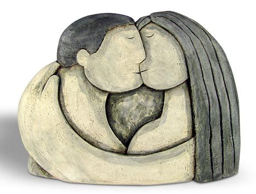 Ceramics by Paul Smith at Studiopottery.co.uk - 2013. A Fond Kiss