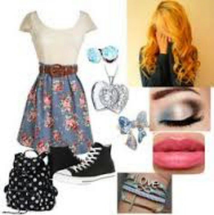 Omg my dream middle school clothes