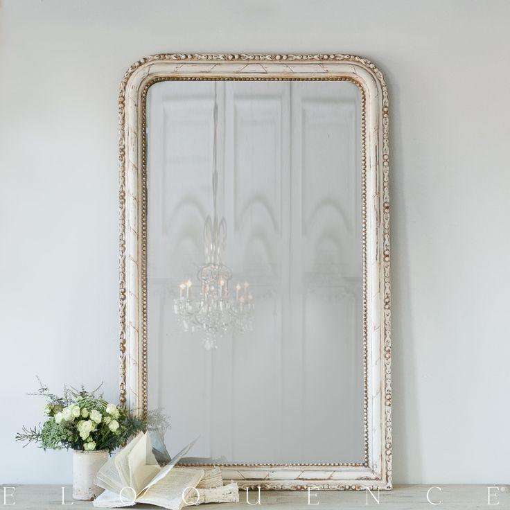 Eloquence Antique Louis Philippe Mirror 1880