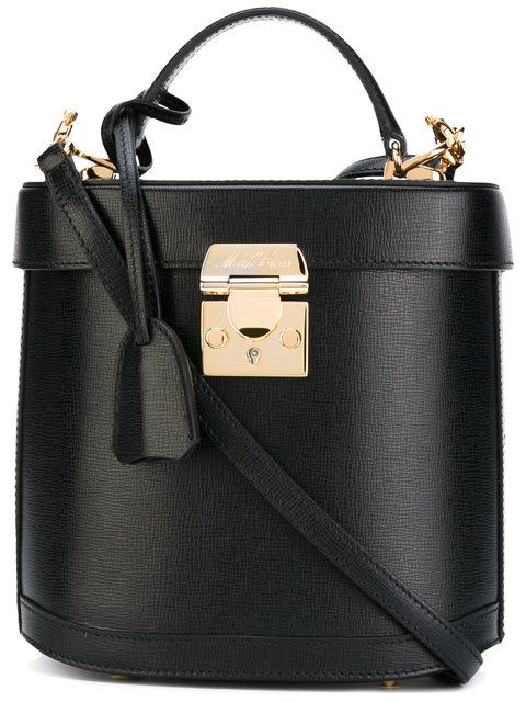 MARK CROSS Clasp Cross-Body Bag. #markcross #bags #leather #