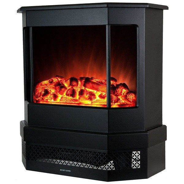 Buy Golden Vantage European Style Freestand Portable Modern Electric  Fireplace Heater Stove Portable Fireplaces U2013 ✓ FREE DELIVERY Possible On  Eligible ...