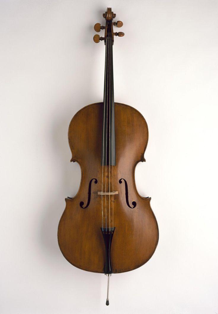 Cello made by Mathew Hardie & Son of Edinburgh, 1823