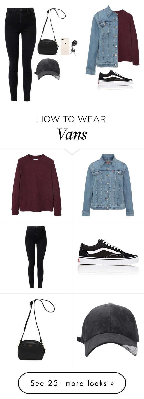 """Untitled #300"" by rowancm on Polyvore featuring J Brand, MANGO MAN, Levi's and Vans"