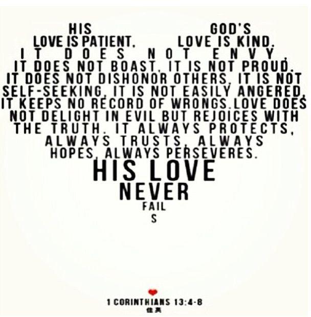 Wedding Reading Love Is Patient: 17 Best Images About Corinthians 1st Letter On Pinterest