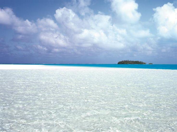 Stunning view of the most beautiful lagoon ever seen #Aitutaki #CookIslands