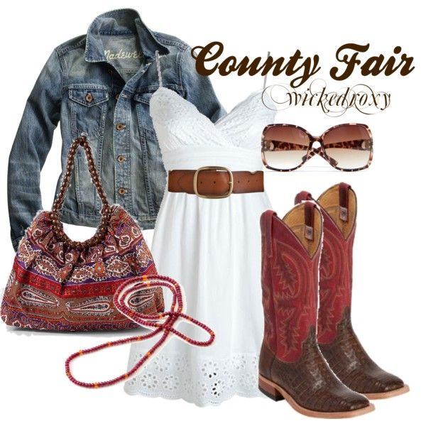 I love this: Dreams Closet, Style, Jeans Jackets, Country Girls, Dresses, Outfit, Cowgirl, County Fair, Cowboys Boots