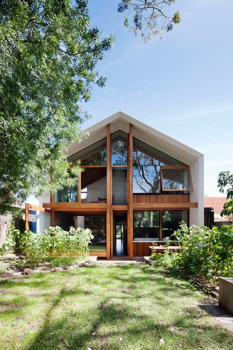 A doll's house provided the inspiration for this extension to a house outside Melbourne