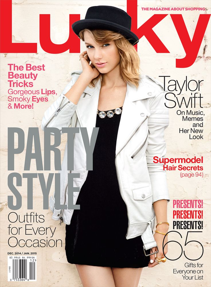 luckymag:  You GUYS: Taylor Swift is our Dec/Jan cover star! The issue hits newsstands next week. Read a preview of the story now»