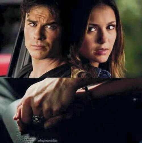 """It went from """"it will always be Stephan"""" to Elena would rather die with Damon than live without him ❤️ the vampire diaries"""