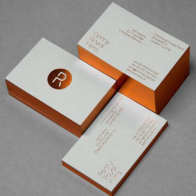 600gsm Cotton Paper Business Card Luxury Rose Gold Business Cards Custom Hot Stamping Fo Foil Stamped Business Cards Stamped Business Cards Foil Business Cards