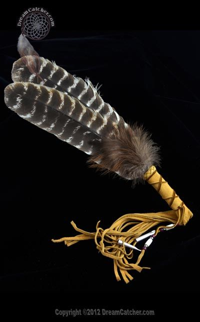 Mohawk Double Smudge Feather--product, not instructions, but this really isn't hard to make and crafted tools are ALWAYS more powerful.  I'd use Raven feathers, myself.
