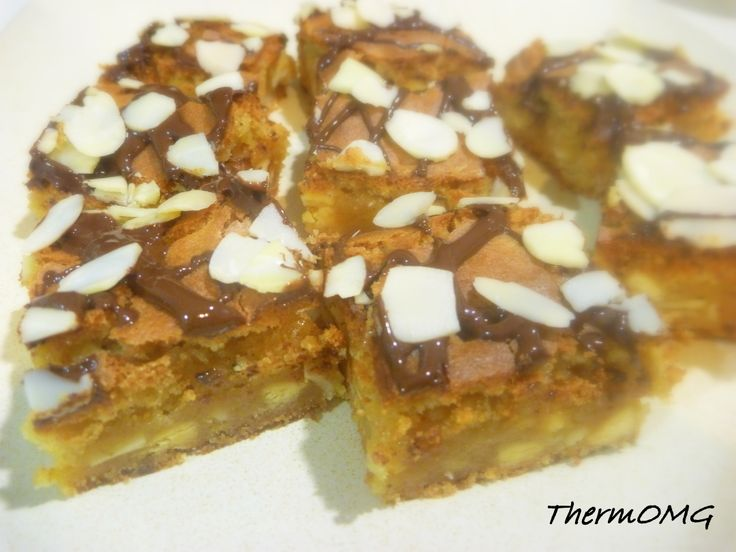 Chewy Almond Slice