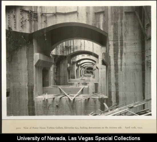Hoover Dam Tunnel Construction – Jerusalem House