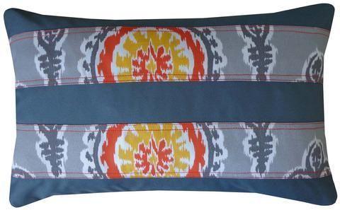 Jiti Clock Pieces Outdoor Pillow
