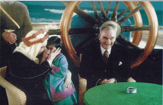 Atatürk'ün nadir bulunan fotoğrafları