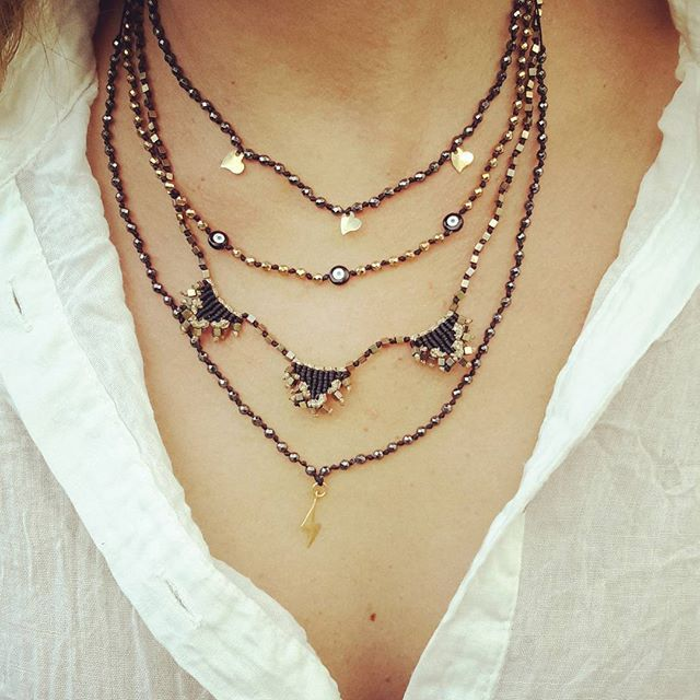 Chic and simple necklaces