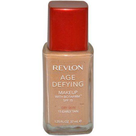 Revlon Age Defying Dry Skin Makeup 1.25 Fl Oz, Beige