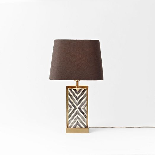 60 best images about lv first floor on pinterest west for Chevron shelf floor lamp