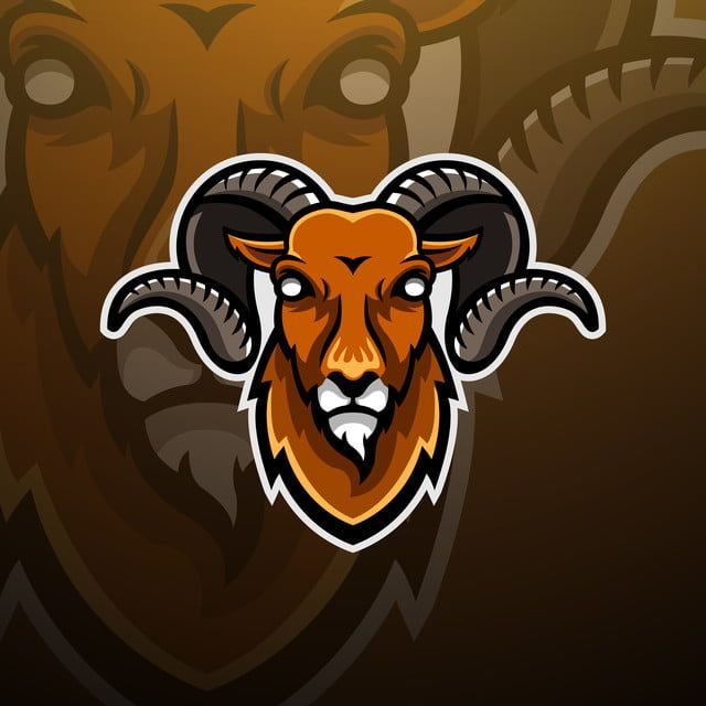 Goat Head Logo Esport Wild Sport Illustration Png And Vector With Transparent Background For Free Download Kambing Gambar Mata Gambar