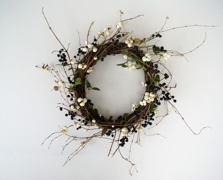 Branching Out: Make This Sweet and Simple Berry Wreath - The Chalkboard