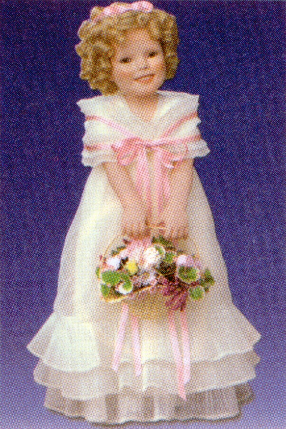 shirley temple flower girl by elke hutchens beautiful
