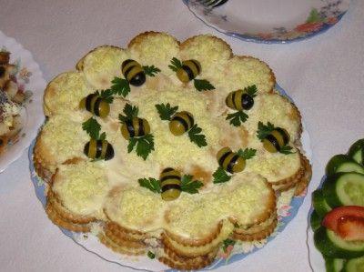 Салат - торт из крекеров - Страница 8 : Простые рецепты для вкусной жизни