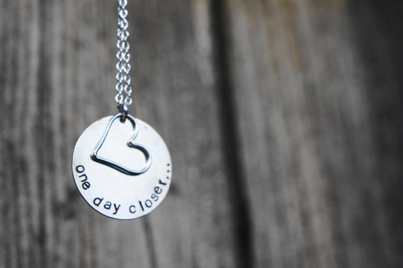 One Day CloserDeployment Gift, Closer Necklaces, Army Deployment, Hopefulfam Quotes, Army Life, Army Navy, Marines Girlfriends Necklaces, Deployment Jewelry, Deployment Necklaces