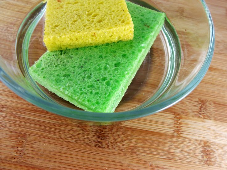 Extend the life of your sponges and scrub brushes by utilizing this simple trick to sanitize them.