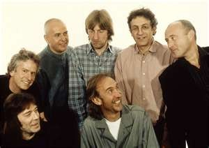 Genesis.....Phil Collins & Peter Gabriel(yes he was a member too) AWESOME......Now, I want to hear invisible touch lol