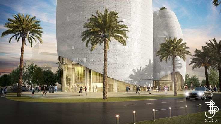 Futur siège de la Caisse Interprofessionnelle Marocaine de Retraite à Casa Anfa, Casablanca . IGH, TOUR, DL2A