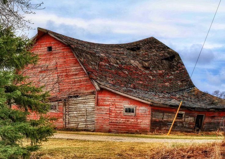 Old Country Barn Old Sway Back Barn Barn Mills Farms
