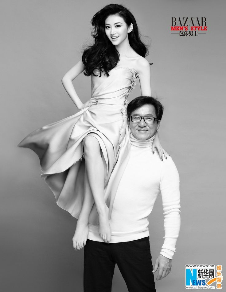 Jackie Chan and Chinese actress Jing Tian (Sally)