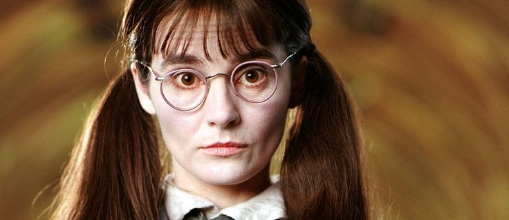 J.K. Rowling reveals Moaning Myrtle's full name. The initials are M.E.W.  I have had a cat named Moaning Myrtle for about eight years. This is perfect!