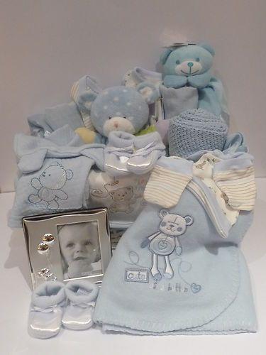 Blue Jumbo Baby Gift Hamper