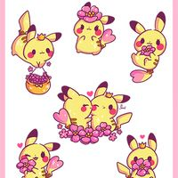 Pikachu Flowers · Jenni Illustrations · Online Store Powered by Storenvy