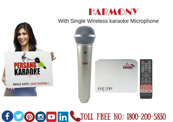 Harmony (with Single Wireless karaoke Microphone) Lyrics in Hindi & English for Hindi Songs,16GB inbuilt Memory,2.4 GHz Microphone,E-Manual,Total 13 Languages & Can Attach Extra Wired Microphone #PersangKaraoke #KaraokeTablet #Karaokeindia #Karaokemachine #BestKaraoke #TotalSongBankof6061 which comprises of (#Hindi, #English, #Konkani, #Gujarati, #Bhojpuri, #Bengali, #Kannada, #Malayalam, #Marathi, #Punjabi, #Telugu, #Tamil, #Nepali).