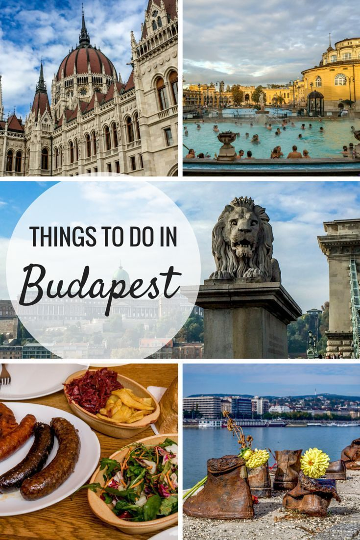 From historical monuments to food tours, there are so many things to do in Budapest | Visiting Budapest is a Feast for the Senses